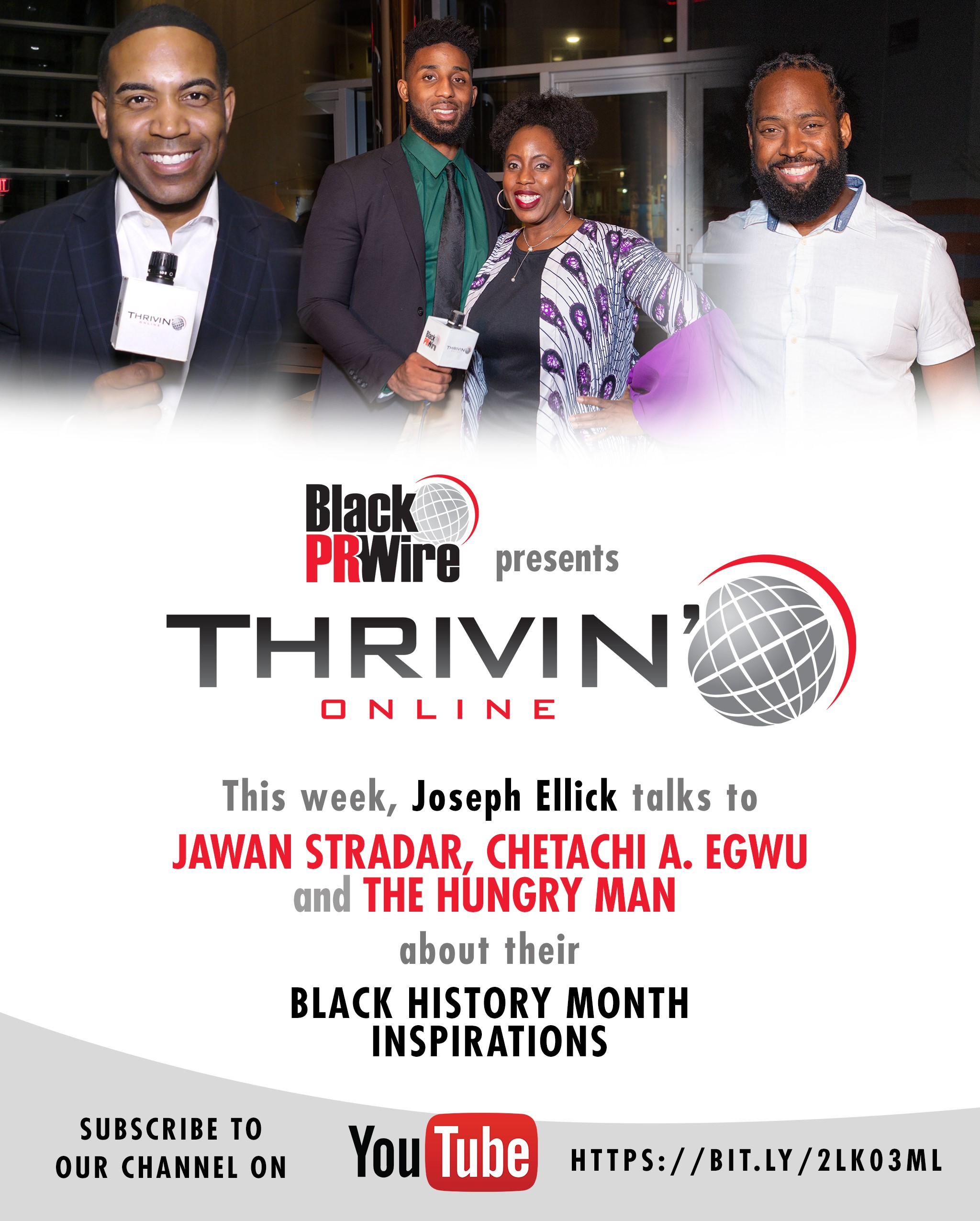 BPRW) THRIVIN ONLINE presents Black History Month Inspirations