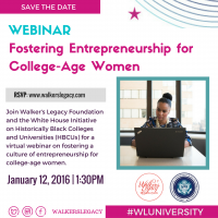 (BPRW) Virtual Webinar on Black Female Entrpreneurship