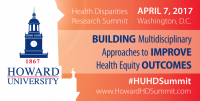 (BPRW) Health Disparities Researchers Summit at Howard University