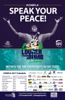 (BPRW) Jason Taylor Foundation to Host Third Annual Louder Than A Bomb Florida Poetry Festival from March 27 - April 8, 2017
