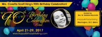 (BPRW) The Inaugural Coretta Scott King Birthday Social Justice Service is Saturday, April 29, 2017, at Howard University's Rankin Chapel