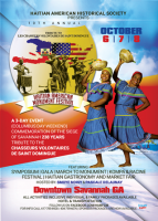 "(BPRW) Historic Tribute in Savannah during  ""The 10th Annual Haitian American Monument Festival"""