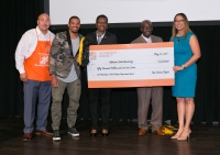The Home Depot Announces Its 2017 Retool Your School Grant Award Recipients at The Home Depot Headquarters Winners Ceremony With Special Guests Atlanta Mayor Kasim Reed And Actor Hill Harper