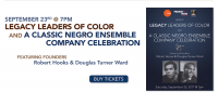 Theatre Communications Group and Project1VOICE to Host #LegacyLeaders Video Screening Tour for Douglas Turner Ward and Negro Ensemble Company at Ebony Repertory Theatre on Saturday, September 23