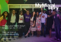 (BPRW) My Miami Story conversations to bring thousands together to talk about common local experiences on October 17
