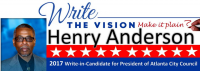 (BPRW) HENRY ANDERSON, Homeless Man and Former Teacher Running For PRESIDENT OF ATLANTA CITY COUNCIL