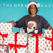 Greentop Gifts' Clarence Claus Featured in O Magazine
