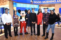 """I'm Going to Disney World!'' Teens Surprised Live on ""Good Morning America'' with Mentoring Trip to Disney Dreamers Academy"