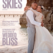 Cayman Airways & HCP Media unveil Grace & Trai Byers Celebrity Cover