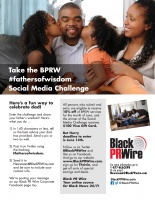 (BPRW) Black PR Wire Launches a Social Media Challenge in Honor of Father's Day