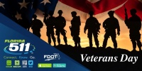(BPRW) Connect.Know.Go this Veterans Day  with FL511